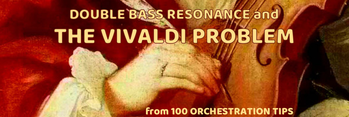 "Double Basses – ""The Vivaldi Problem"""