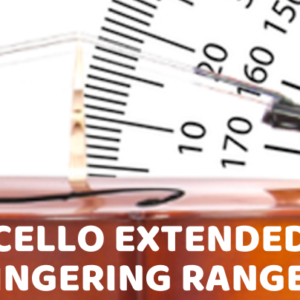 Cello Extended Fingering Range