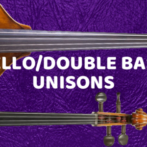 Cello Unison With Double Basses