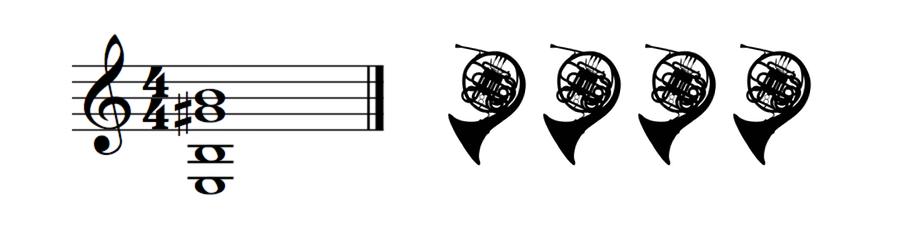 Horns 4-part Harmony
