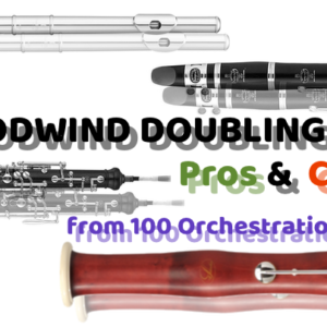 Woodwinds – Doubling Pros and Cons