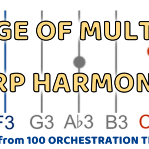 Harp – Range of Multiple Harmonics