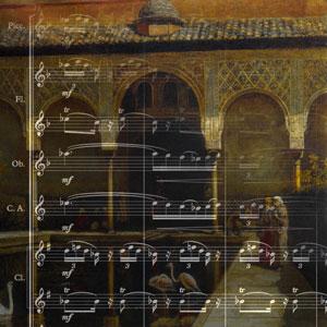 Scoring Albeniz's Granada from Suite Española no. 1, Op. 47