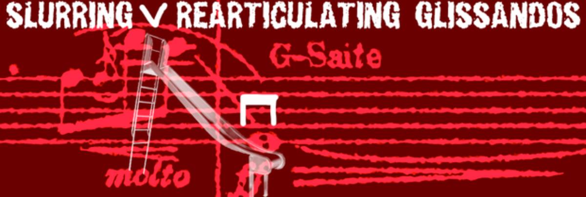Strings: Slurring/Rearticulating Glissandos